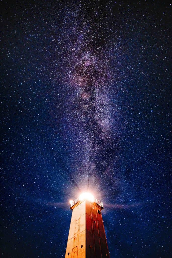 Lighthouse Milkyway Photo